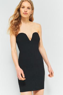 Sparkly Strapless Cocktail Dress