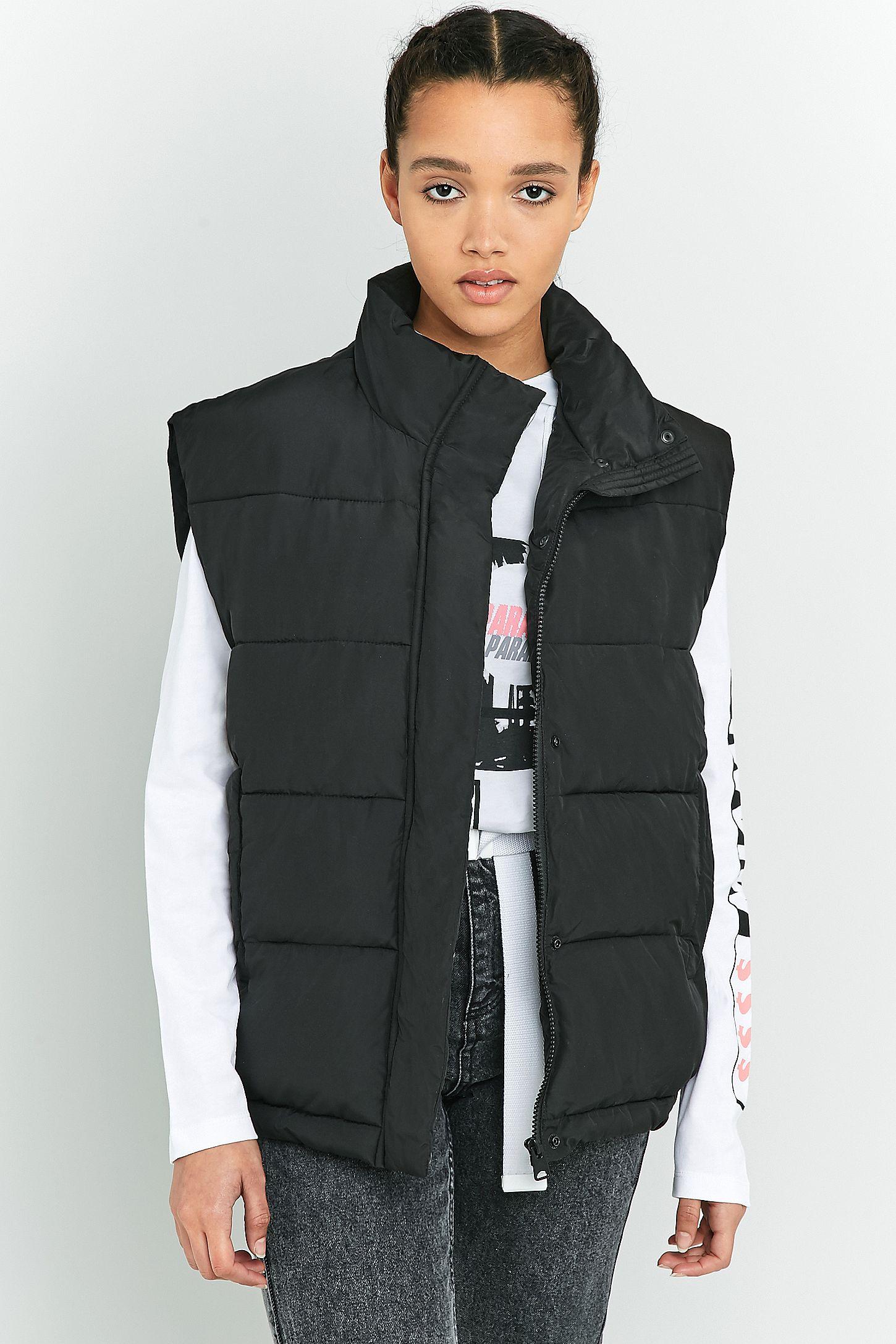 8d21200e0 Light Before Dark Sleeveless Cropped Puffer Jacket