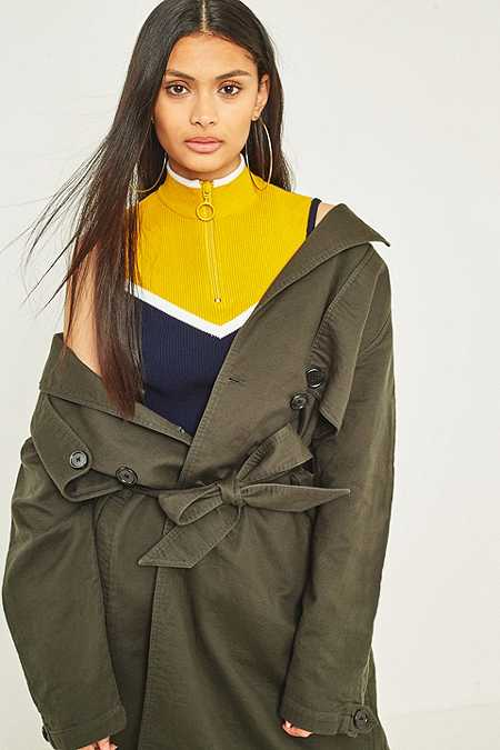 Light Before Dark - Trench oversize années 80