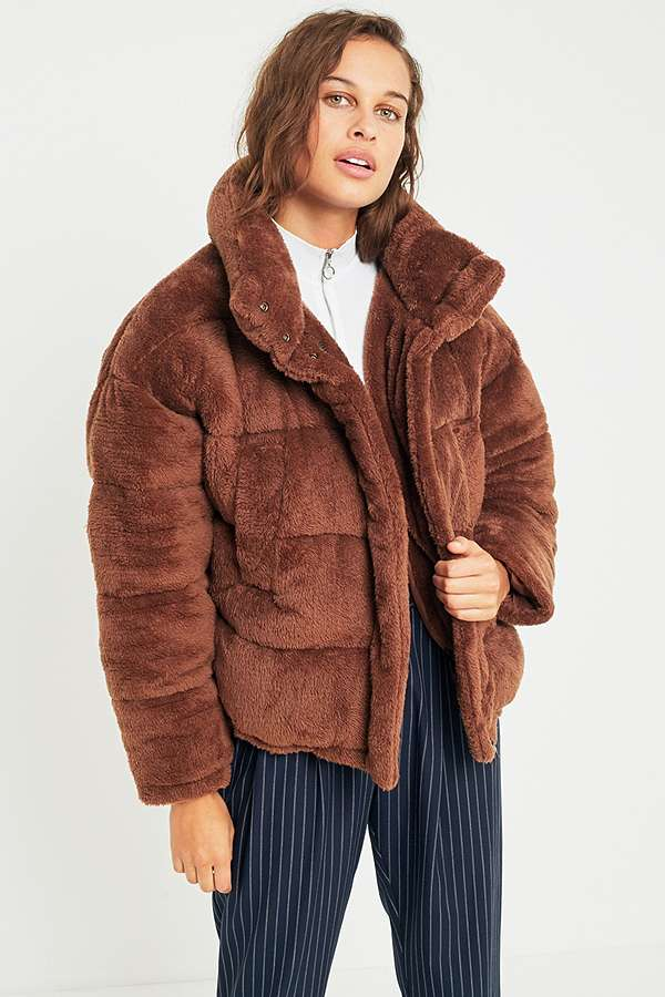 Brown Puffer Coat Han Coats