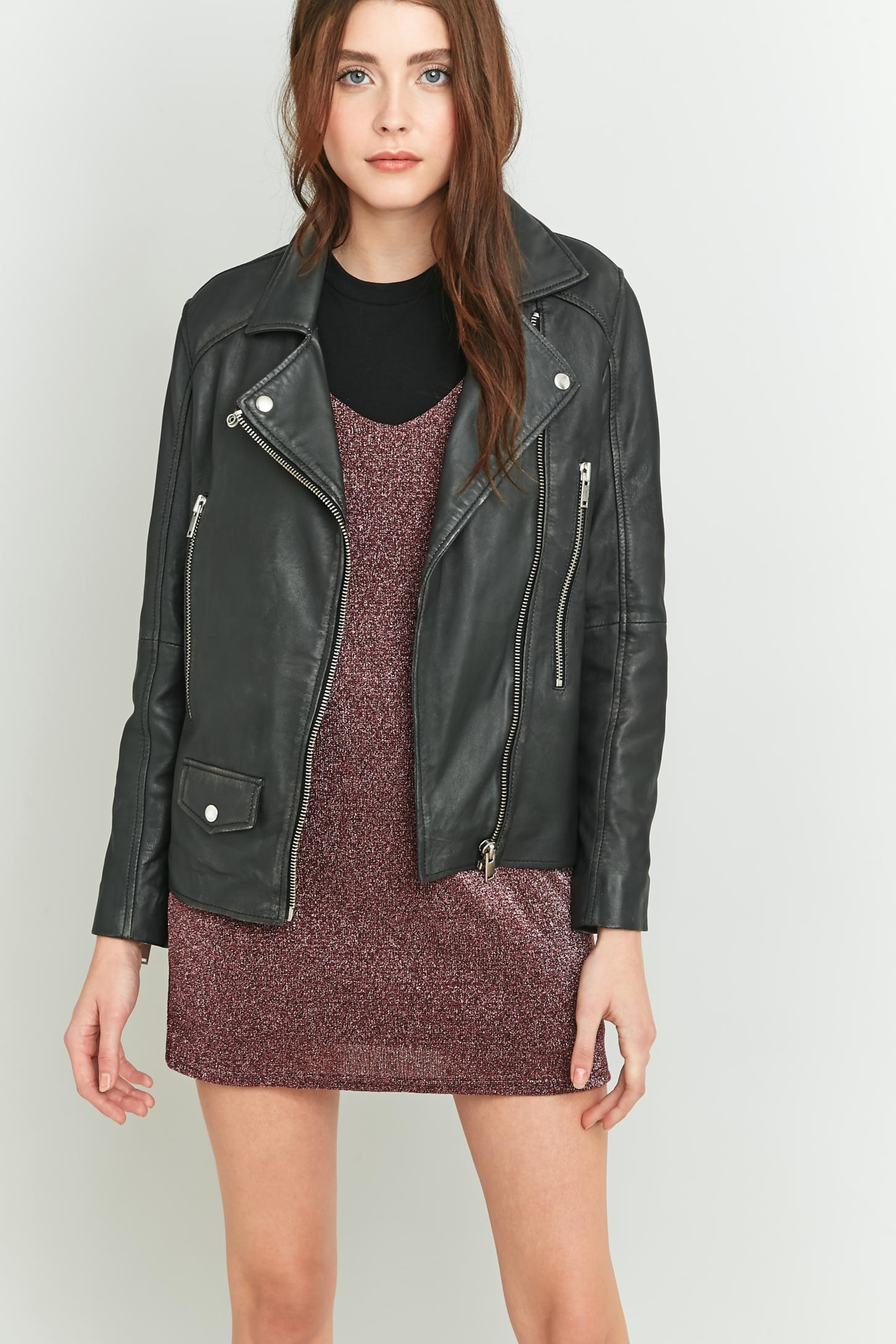 Leather jacket urban outfitters - Leather Jacket Urban Outfitters 38
