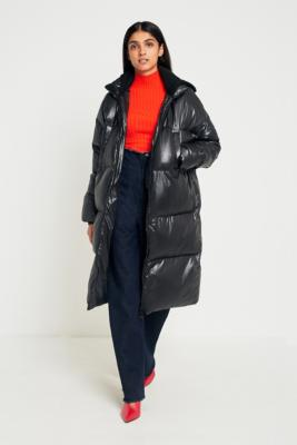 Light Before Dark - Light Before Dark Maxi Puffer Jacket, Black