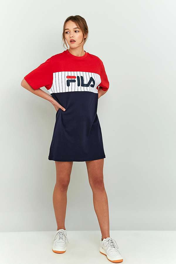 Slide View: 3: FILA Ruby T-Shirt Dress