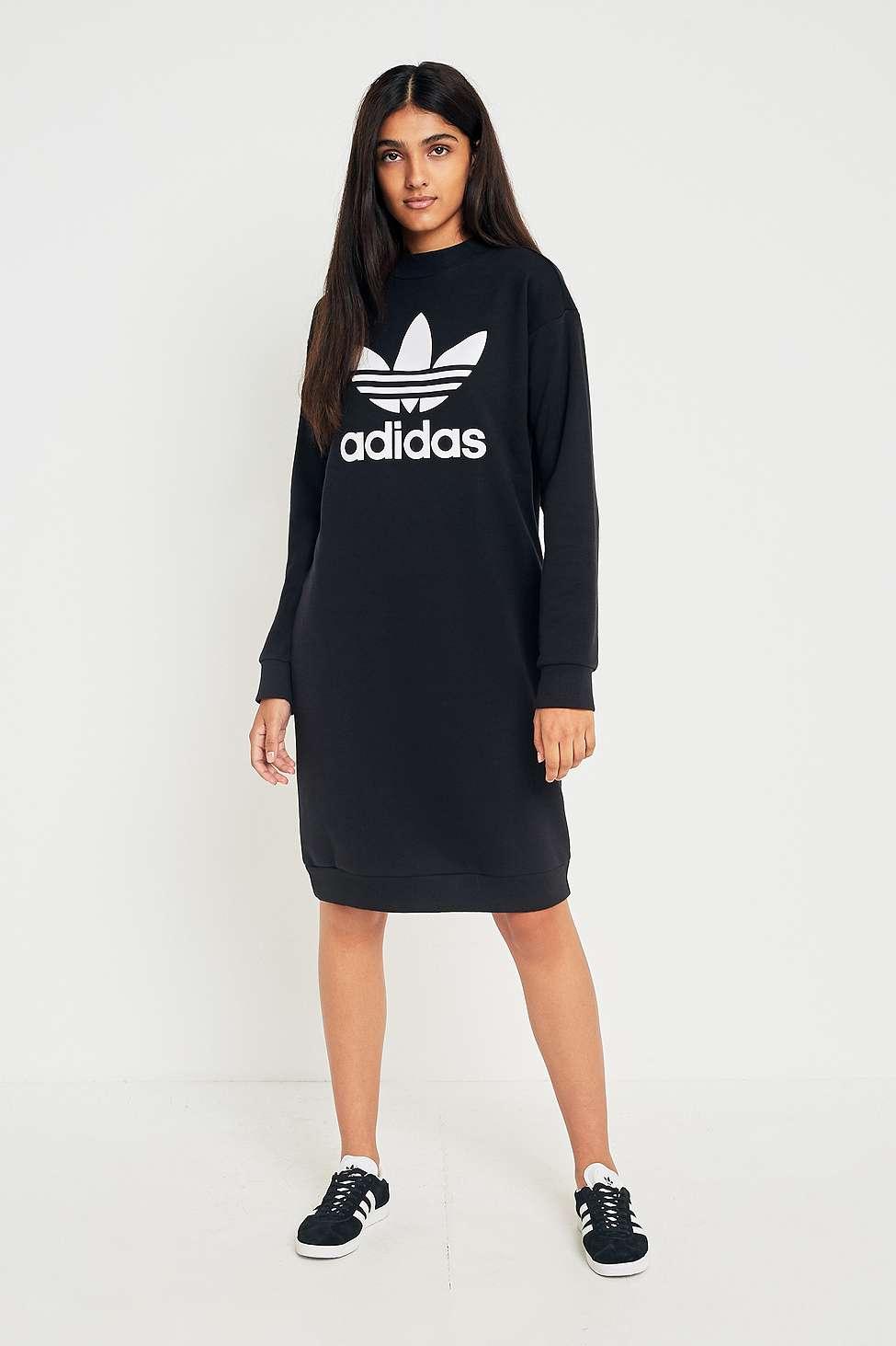 Adidas Originals Trefoil camiseta vestido Urban Outfitters
