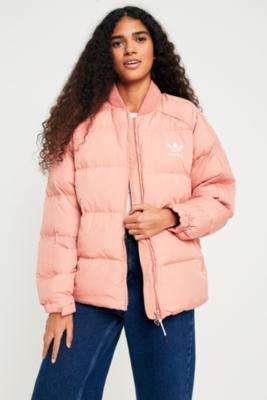 Adidas Originals - adidas Originals SST Pink Down Jacket, Pink