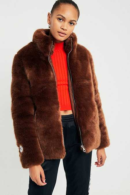 Size Xs - Faux Fur Coats | Urban Outfitters
