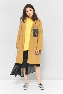 Perks And Mini - Perks And Mini Official Magma Belted Rain Mac Jacket, Brown