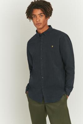 farah-steen-true-navy-button-down-shirt-mens-m