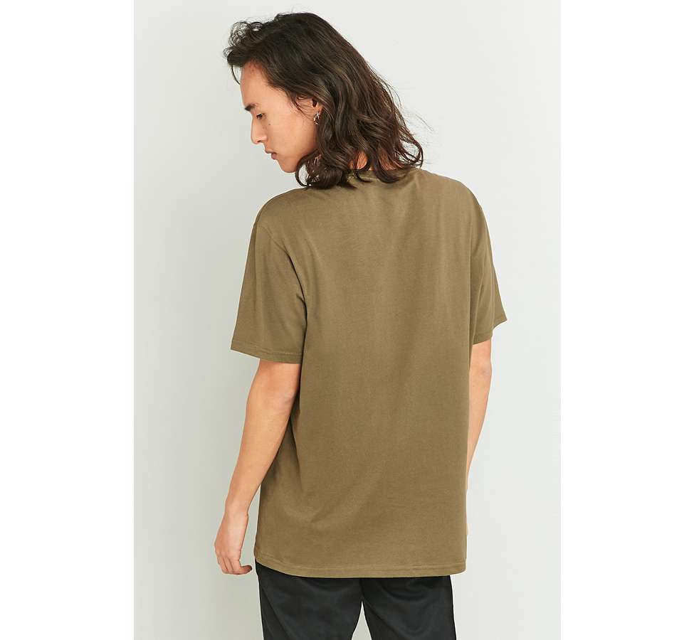 Slide View: 4: MHI – Military-T-Shirt in Khaki