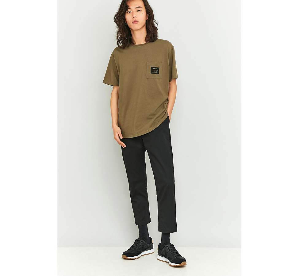 Slide View: 5: MHI – Military-T-Shirt in Khaki