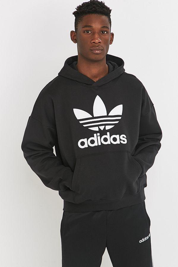 adidas Originals - Sweat à capuche Adicolor noir   Urban Outfitters FR 81a2a375bbbd