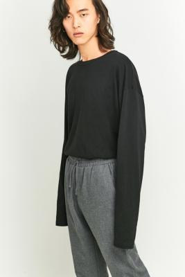 Loom Black TuckIn LongSleeve Tshirt Black