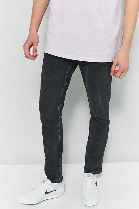 Loom Reed Washed Black Skinny Jeans
