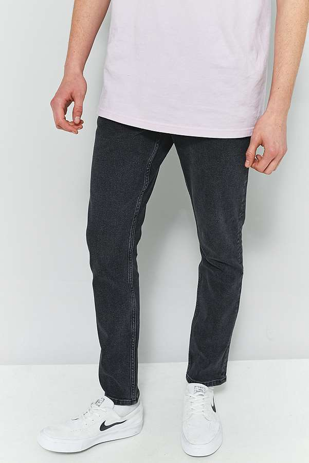 Loom Reed Washed Black Skinny Jeans | Urban Outfitters