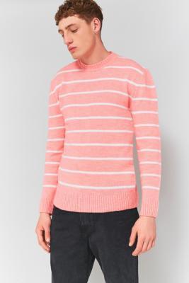 loom-pink-breton-stripe-jumper-mens-m
