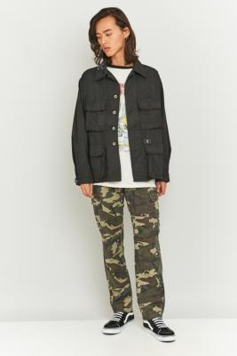 U.S. Alteration Vintage M65 Black Camo Jacket – Mens L