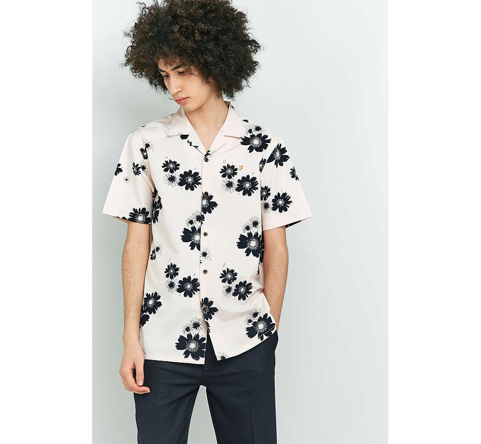 Slide View: 1: Farah Trudlow Seashell Flower Print Shirt