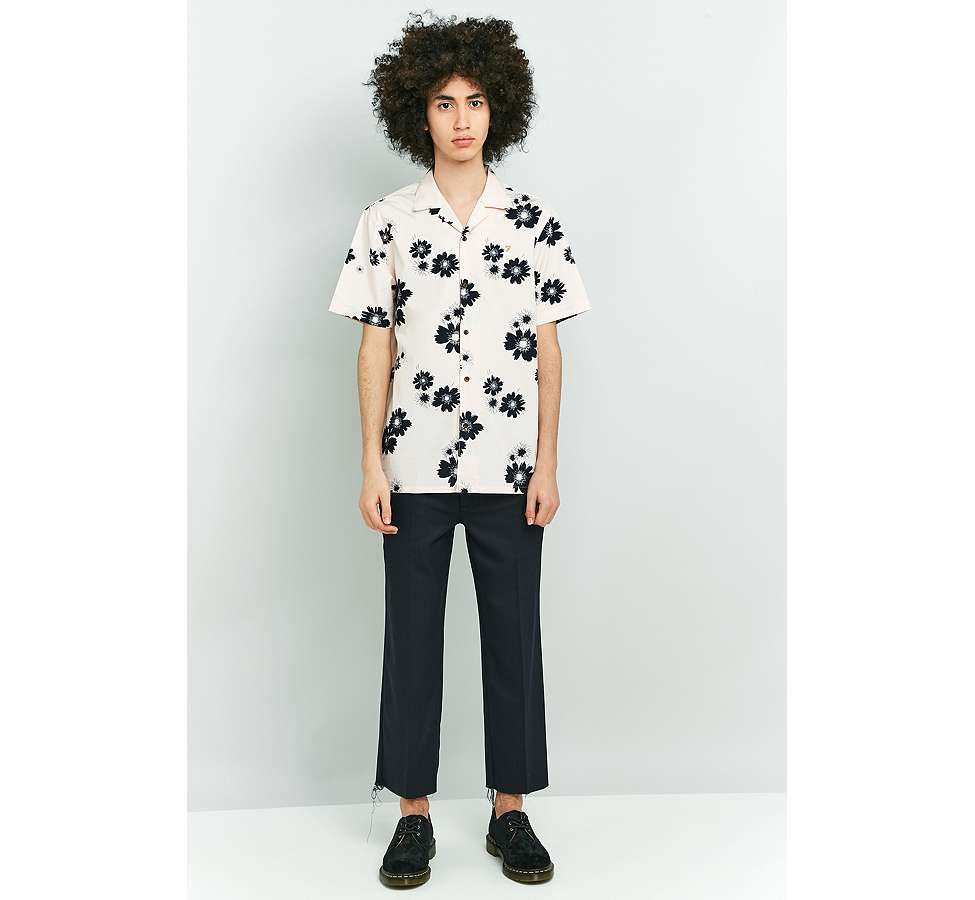 Slide View: 3: Farah Trudlow Seashell Flower Print Shirt