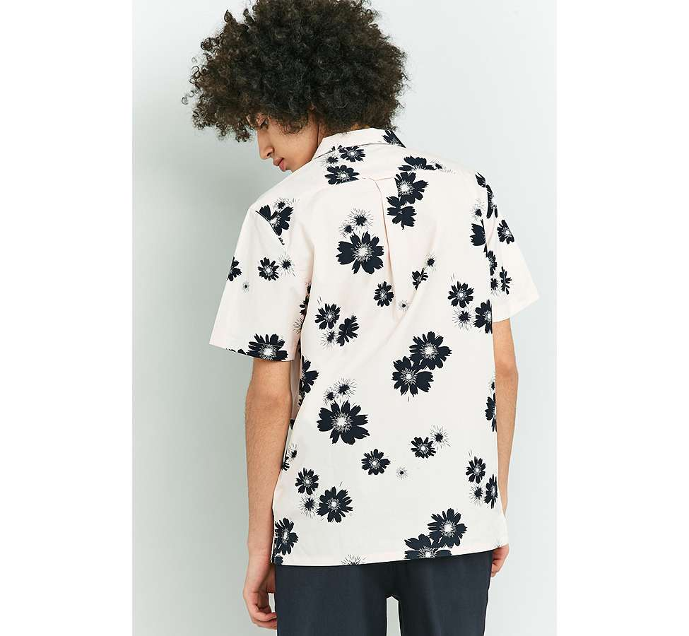 Slide View: 4: Farah Trudlow Seashell Flower Print Shirt
