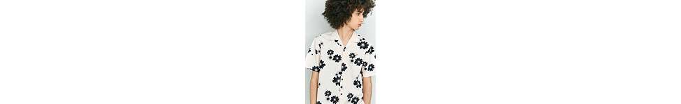 Thumbnail View 5: Farah Trudlow Seashell Flower Print Shirt
