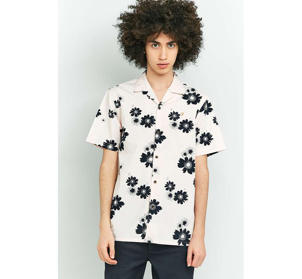 Slide View: 6: Farah Trudlow Seashell Flower Print Shirt