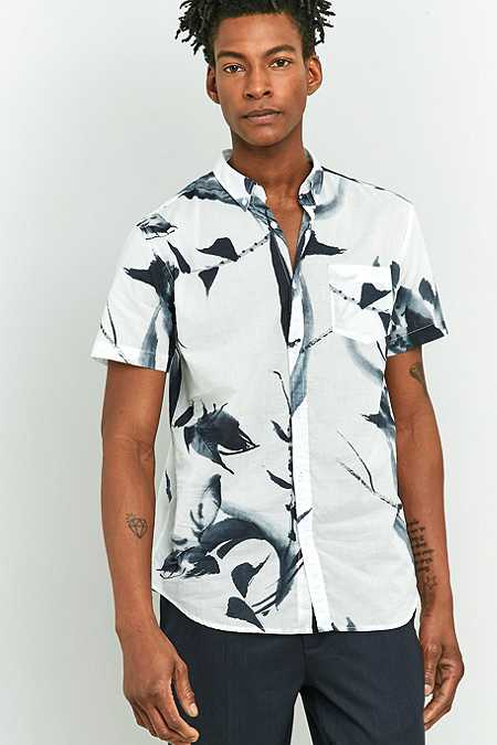 Selected Homme Flowers Short-Sleeve Shirt