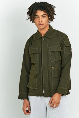 Dominate Jakarta Army Green Trooper Jacket Khaki