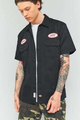 Dickies Rotonda Black Short-Sleeve Shirt, BLACK