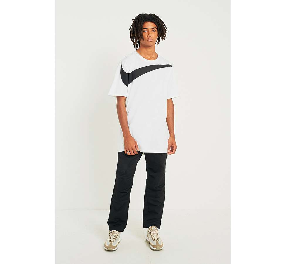 Slide View: 3: Nike Oversize Swoosh White T-shirt