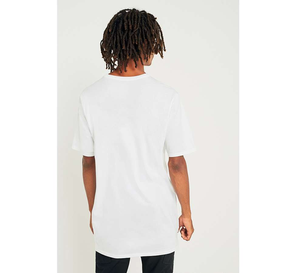 Slide View: 5: Nike Oversize Swoosh White T-shirt