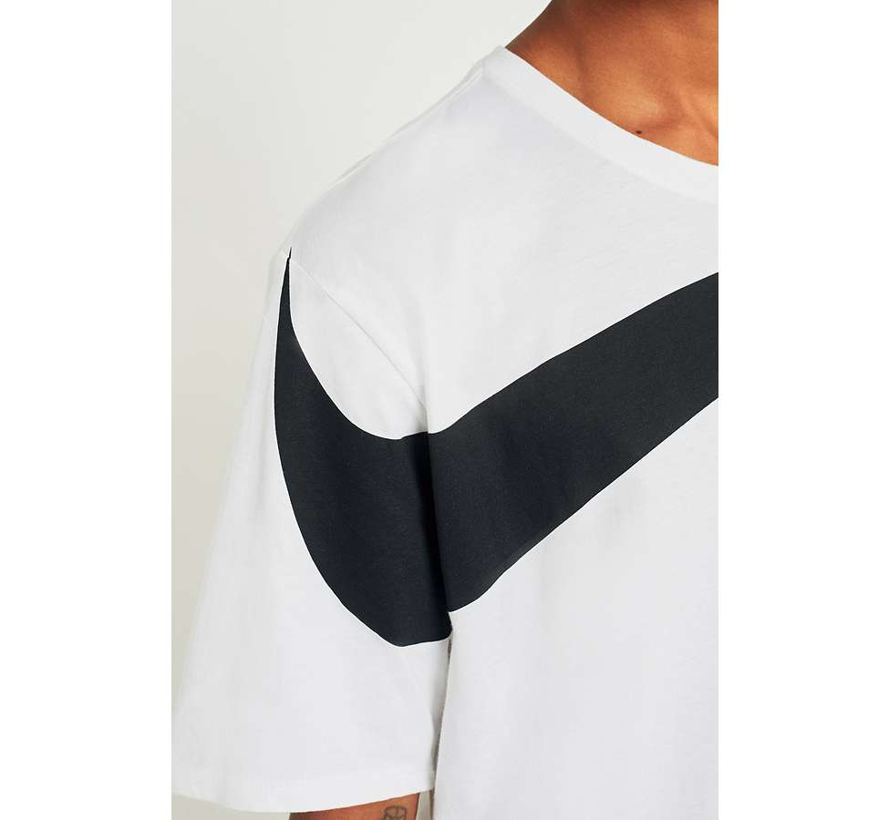 Slide View: 6: Nike Oversize Swoosh White T-shirt