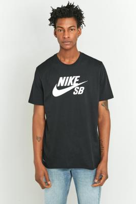Nike SB Black Logo Tshirt Black