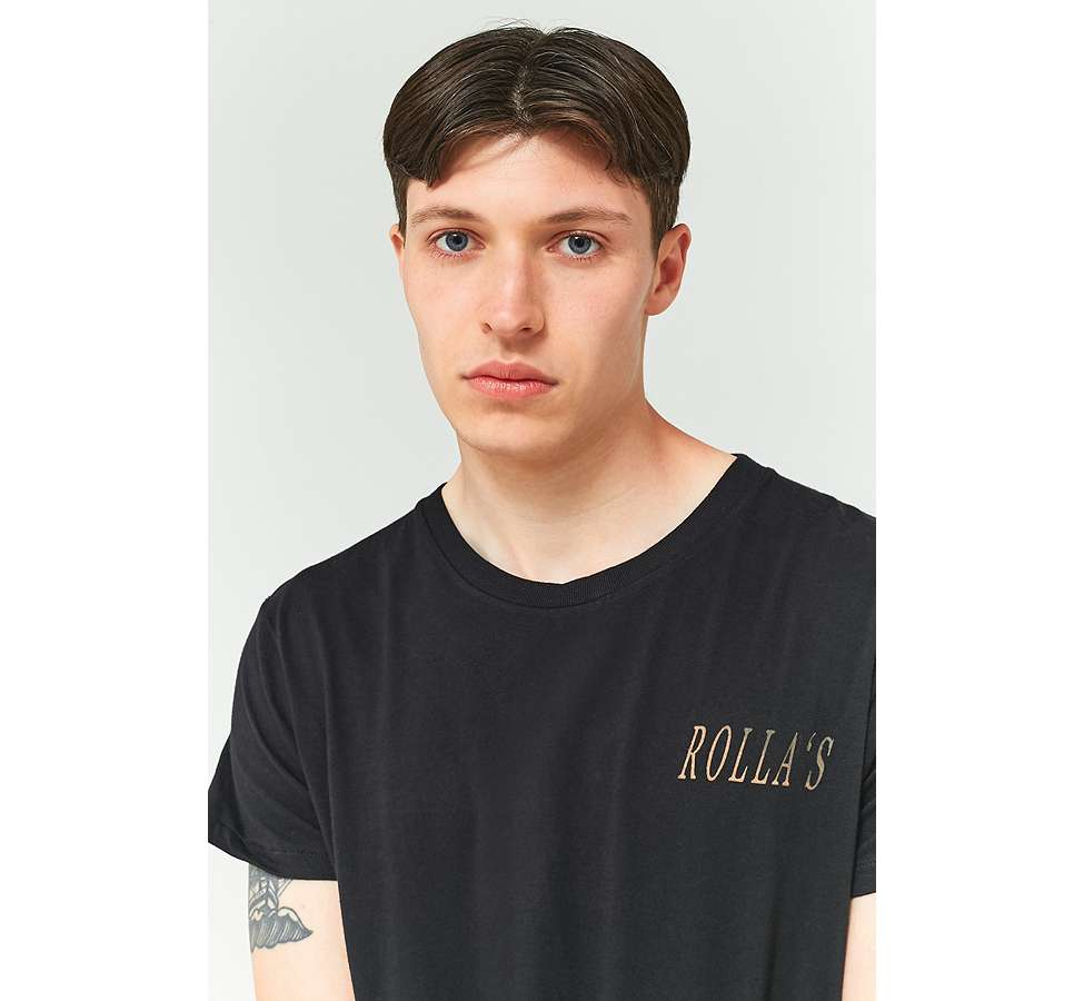Slide View: 4: Rolla's Big Rolla's Black T-shirt