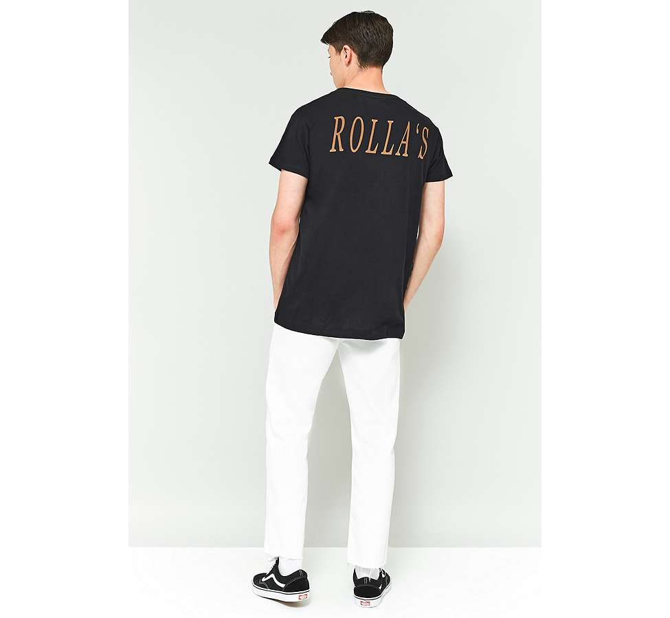 Slide View: 5: Rolla's Big Rolla's Black T-shirt