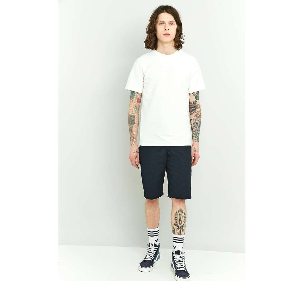 Slide View: 2: Native Youth Bembridge Off-White Slub T-shirt