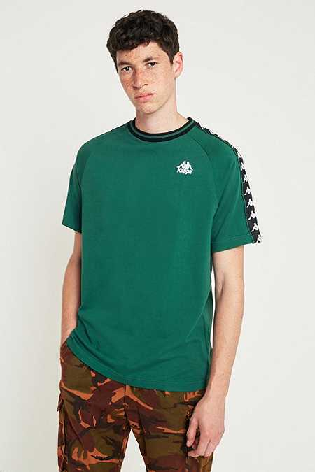 Kappa Banda Taped Green Short-Sleeve T-shirt