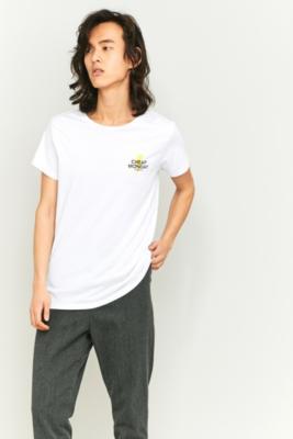 Cheap Monday Small Bolt White T-shirt, WHITE