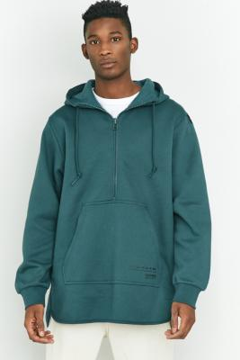 adidas EQT Mystery Green Scallop Pullover Hoodie Turquoise