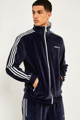 adidas Legend Ink Velour Track Top – Mens M