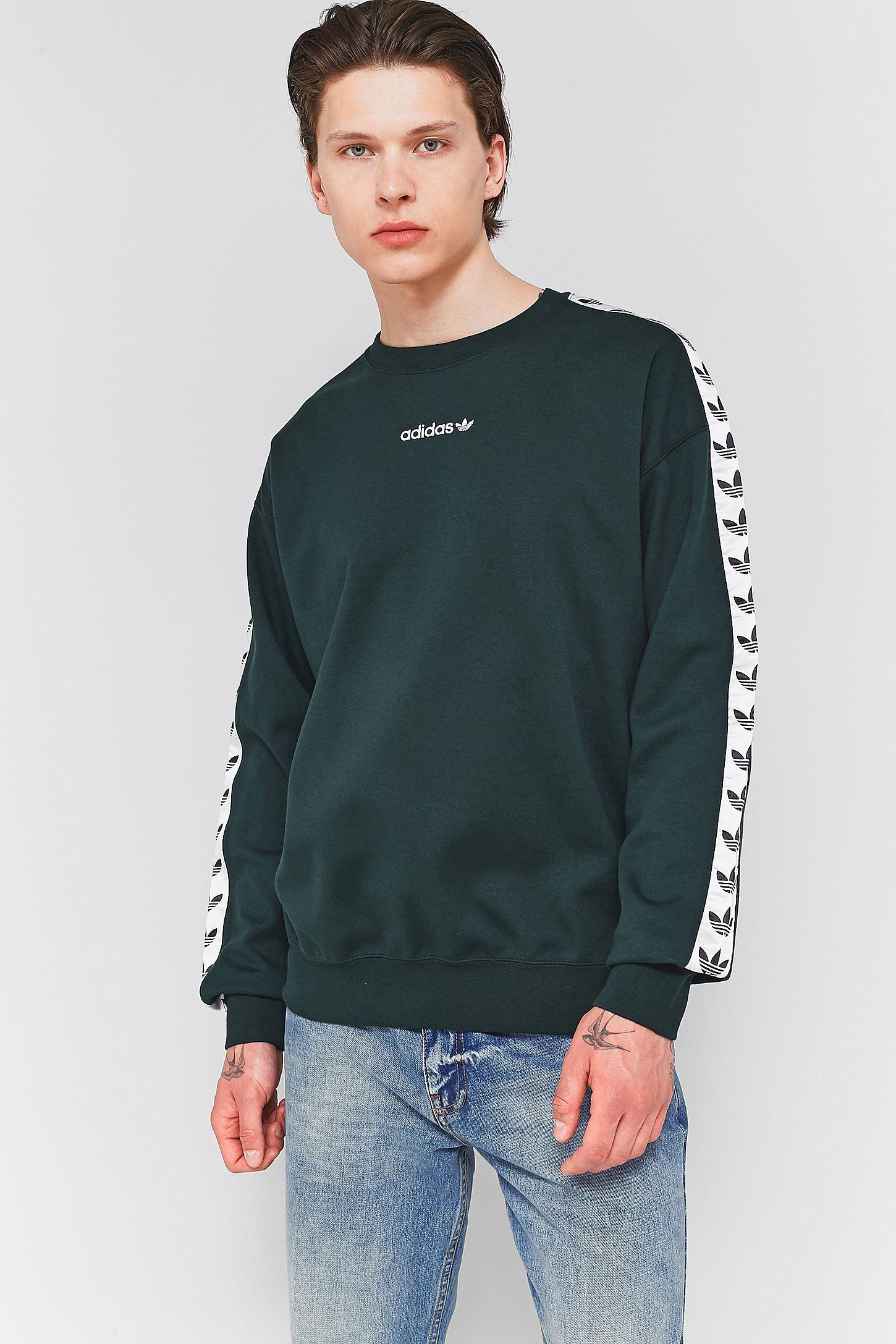 Fr Taped Sweatshirt Adidas Urban Night Tnt Outfitters Crewneck Green HqxwaATp