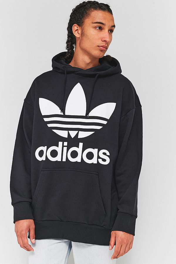 Hoodie Adicolor Urban Oversized Uk Black Outfitters Adidas wtqdIt