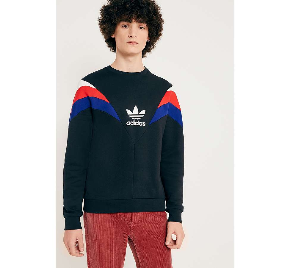 "Slide View: 1: adidas Originals – Sweatshirt ""Neva"" in Schwarz"