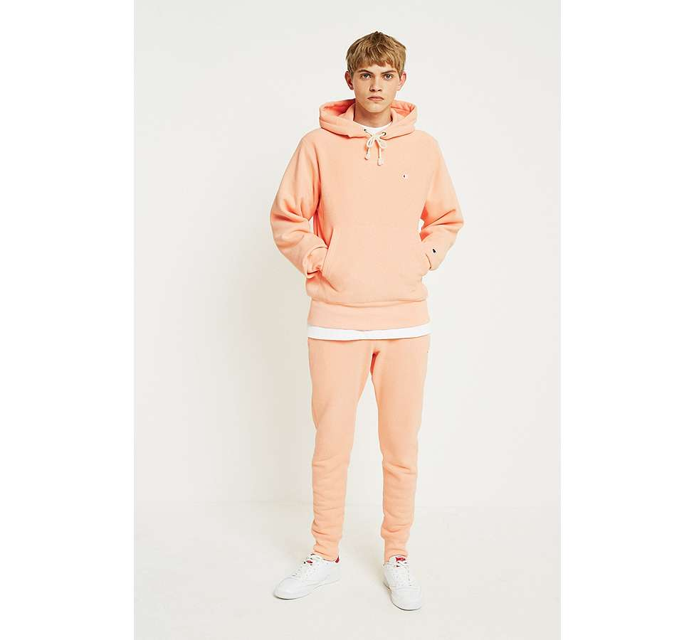 Slide View: 1: Champion Peach Reverse Weave Hoodie