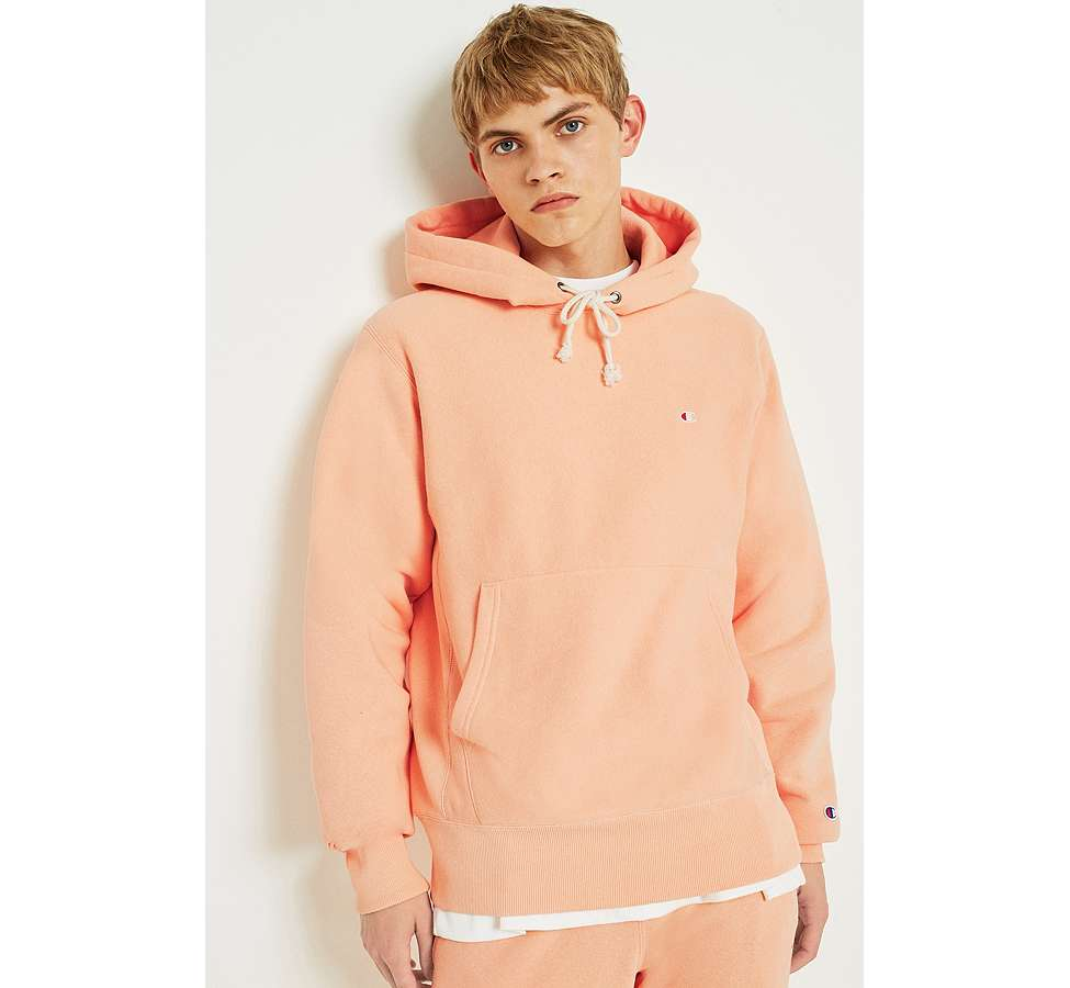 Slide View: 2: Champion Peach Reverse Weave Hoodie