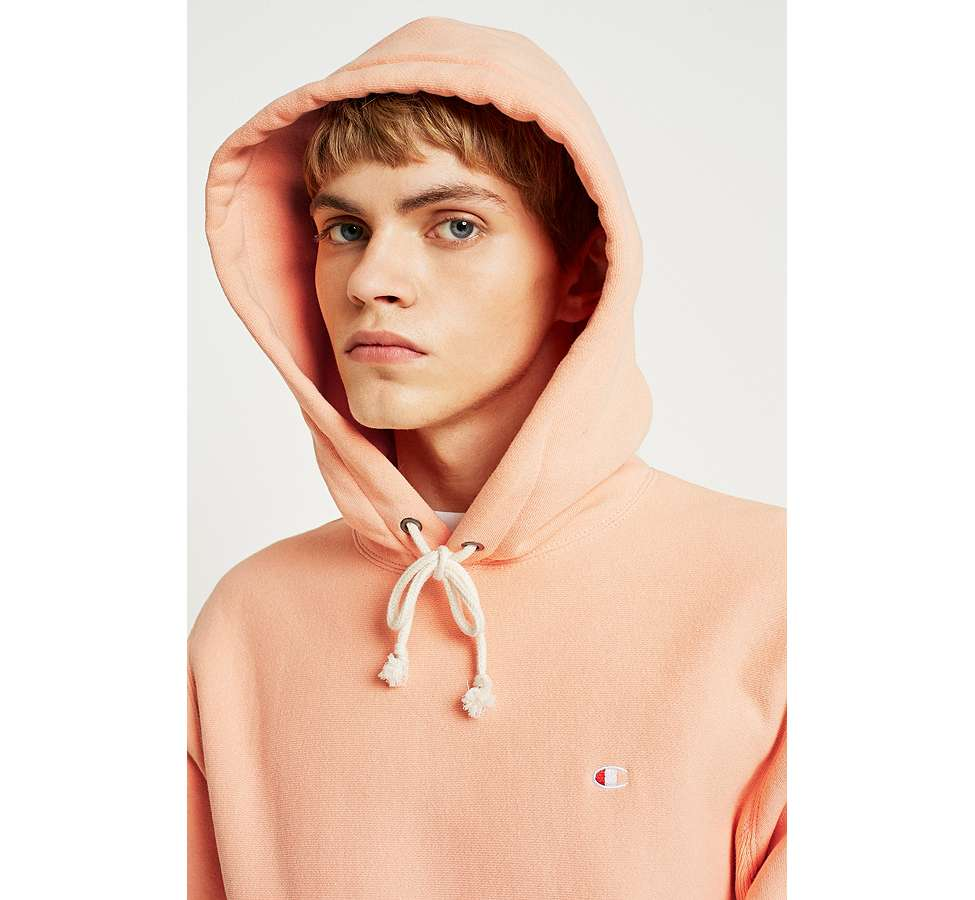 Slide View: 5: Champion Peach Reverse Weave Hoodie