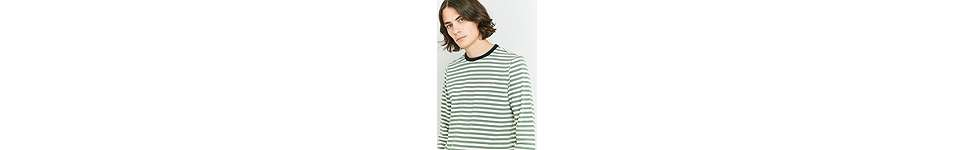 Thumbnail View 2: Farah Ally Palm Striped Long Sleeve T-shirt
