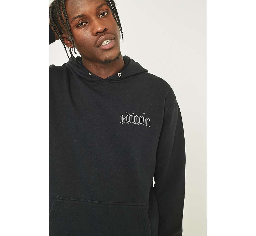 Slide View: 3: Edwin Best or Nothing Black Hoodie