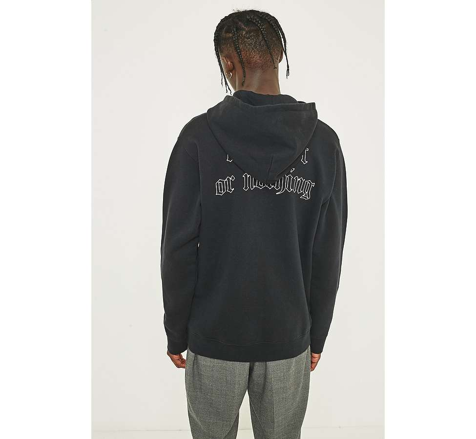 Slide View: 4: Edwin Best or Nothing Black Hoodie