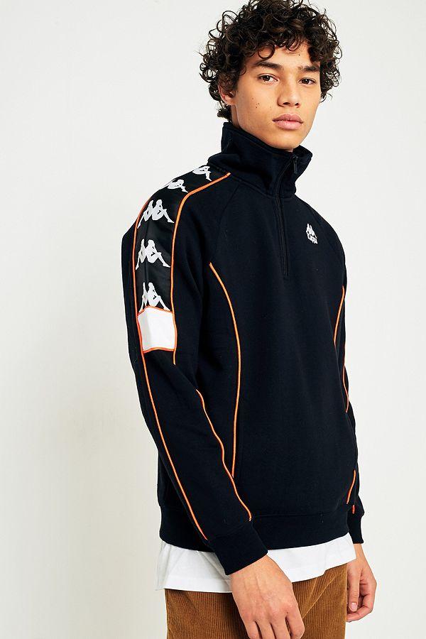 Zippée De Kappa Orange Veste Urban Outfitters Fr Et Sport Noire xw5wACqY
