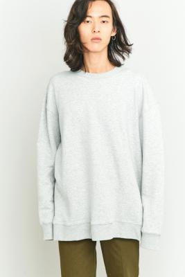 Cheap Monday Grey Extra Oversized Sweatshirt, GREY